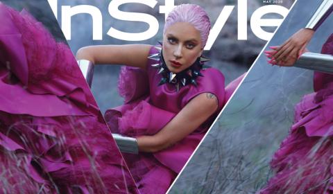 Lady Gaga Covers 'InStyle' Magazine.
